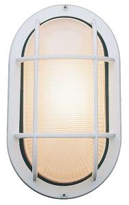 elongated bulkhead light in white